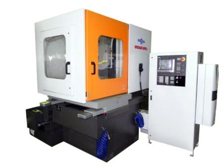 SURFACE GRINDING MACHINE WITH ROUND TABLE AND HORIZONTAL SPINDLE