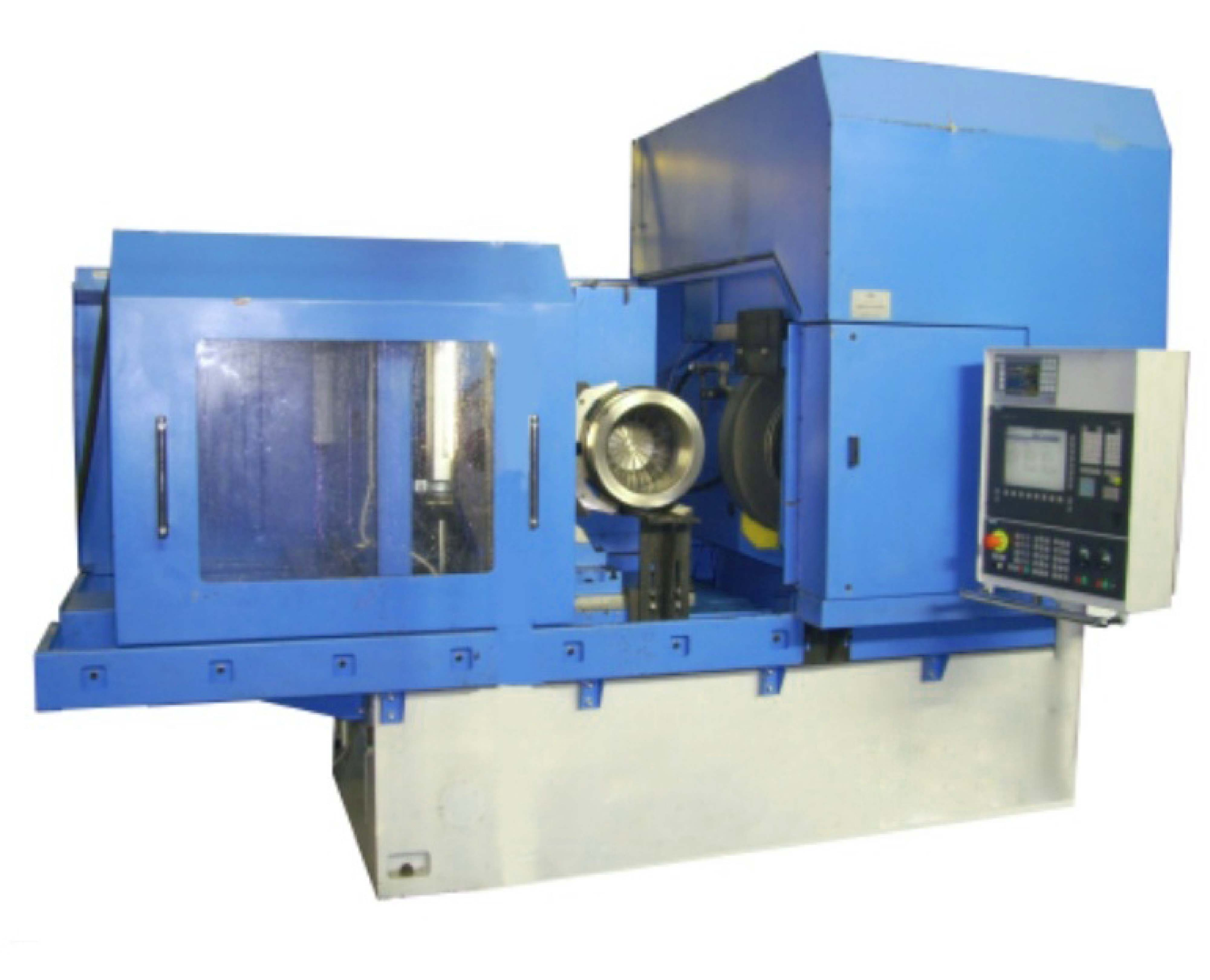 MACHINE FOR GRINDING THE ROLLER – SPHERICAL BEARINGS INWARD RING ROLLING TRACKS WITH CNC OSHP-226