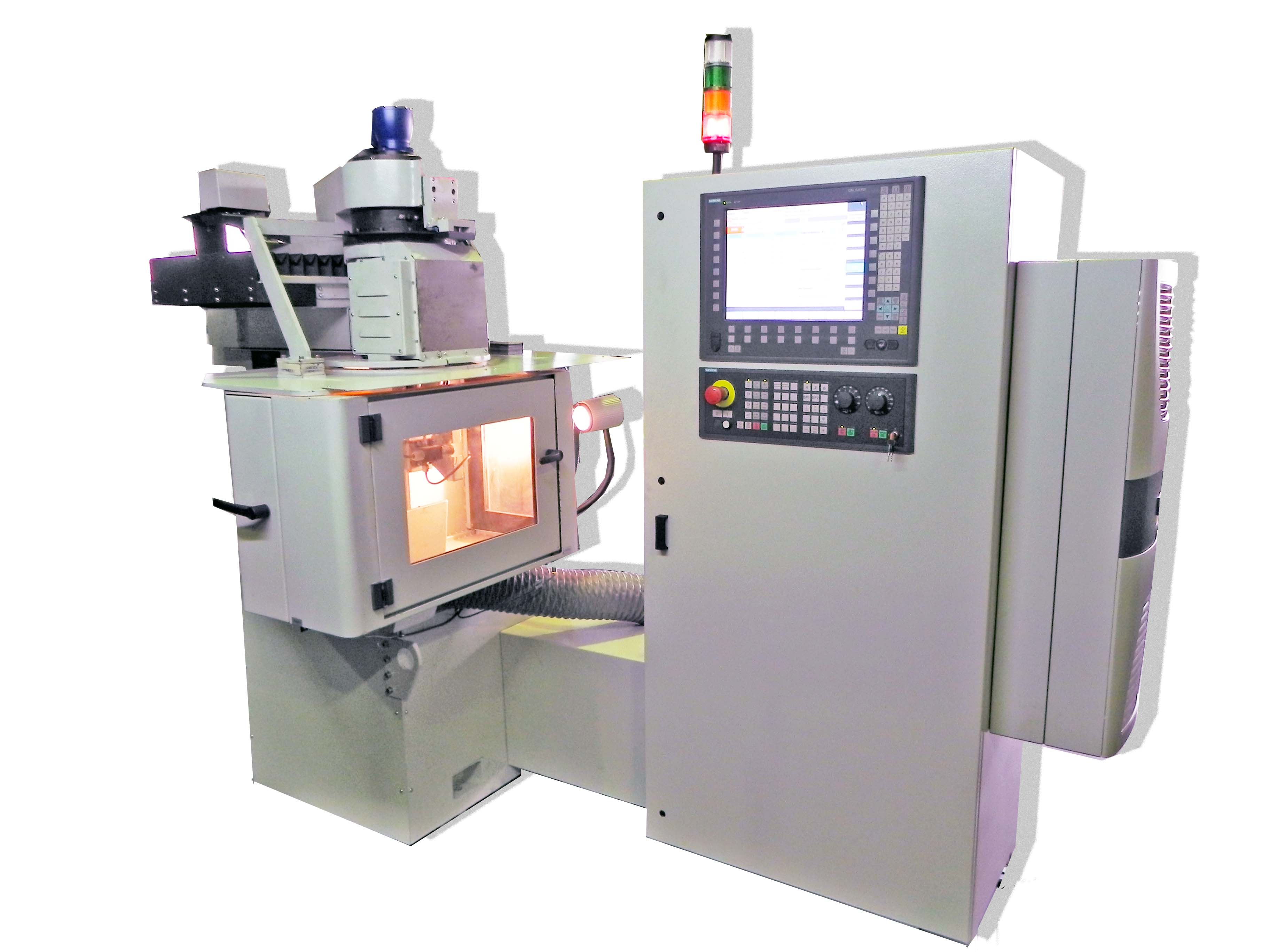MACHINE FOR ABRASIVE GRINDING WHEELS PROFILING WITH CNC MODEL OSH-614